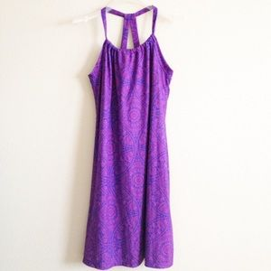 Prana dress with built in shelf bra